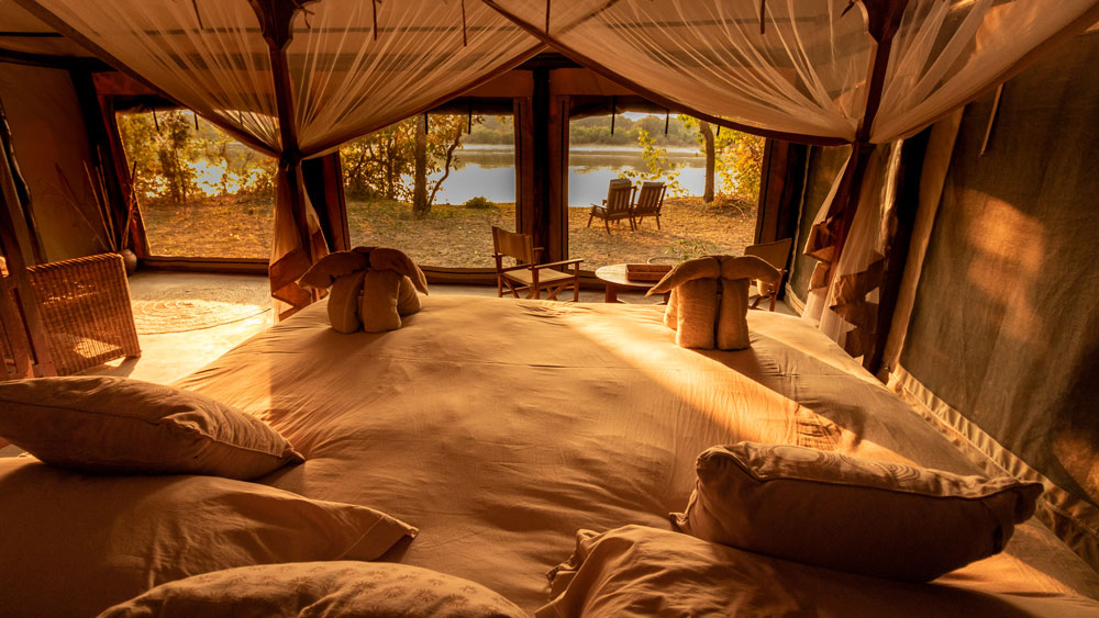 Luambe Camp Luangwa Valley Tented Accommodation